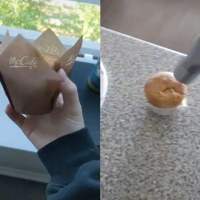 McDonalds muffin