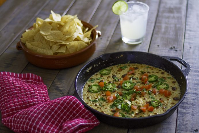 double cheese queso dip