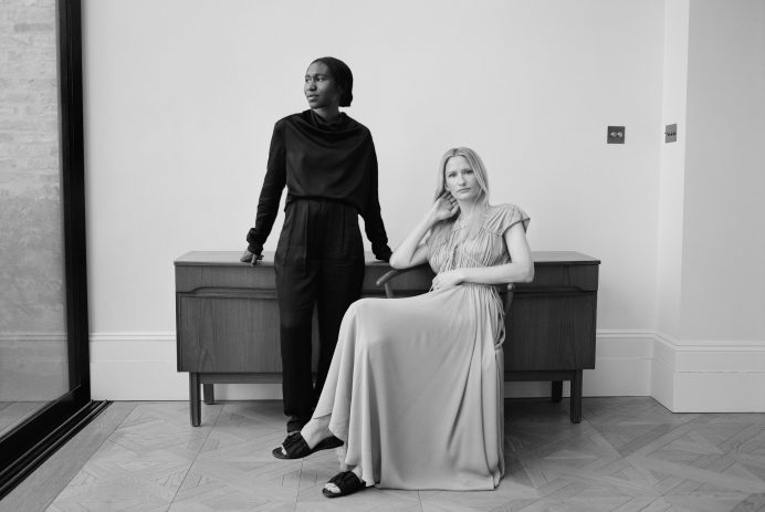 Camille Perry (L) & Holly Wright (R) Portrait_By Harry Crowder