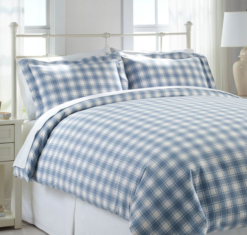 L L Bean S Super Soft Flannel Bedding Is All On Sale For Fall