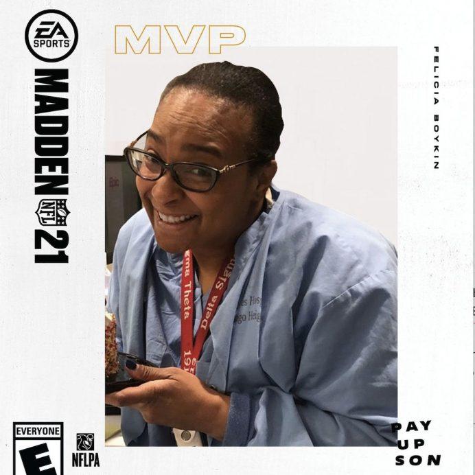 madden nurse mvp