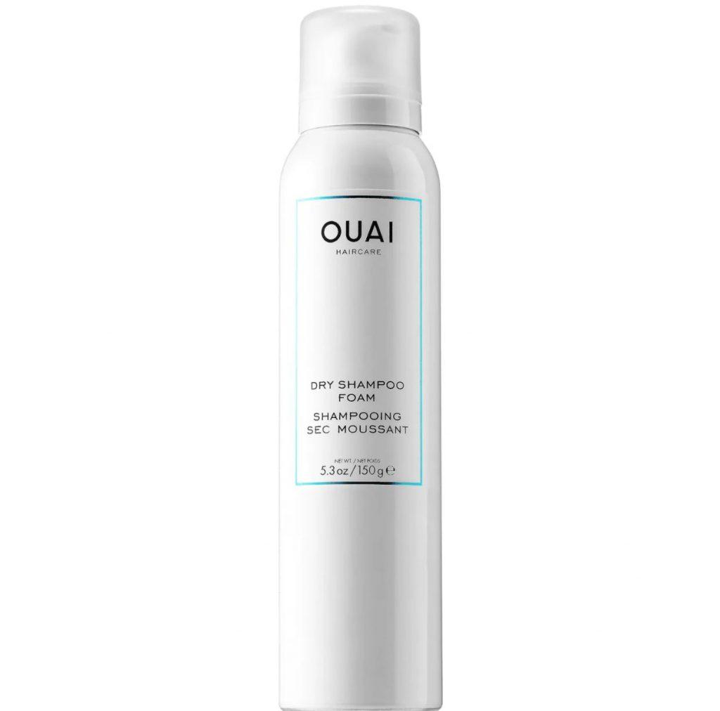 photo of OUAI's dry shampoo foam
