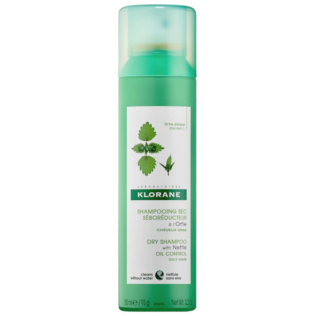 a picture of a can of Klorane Dry shampoo