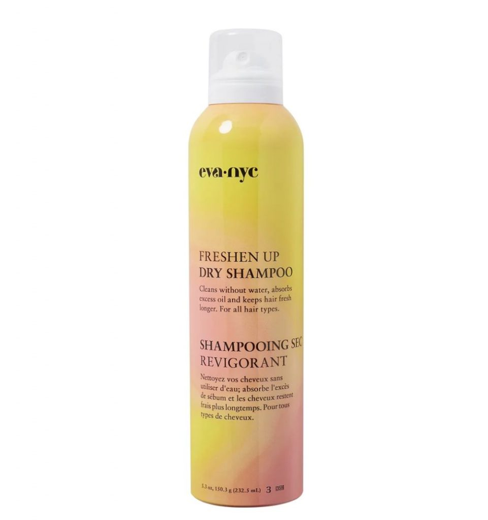 a photo of a can of dry shampoo for oily hair