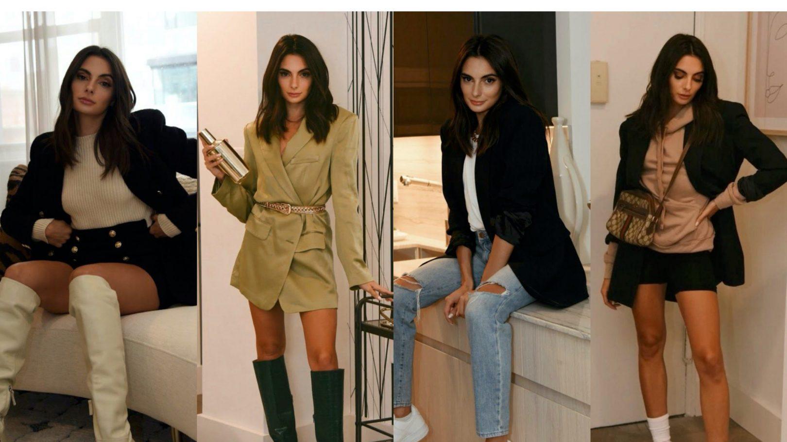 Paige DeSorbo in blazers