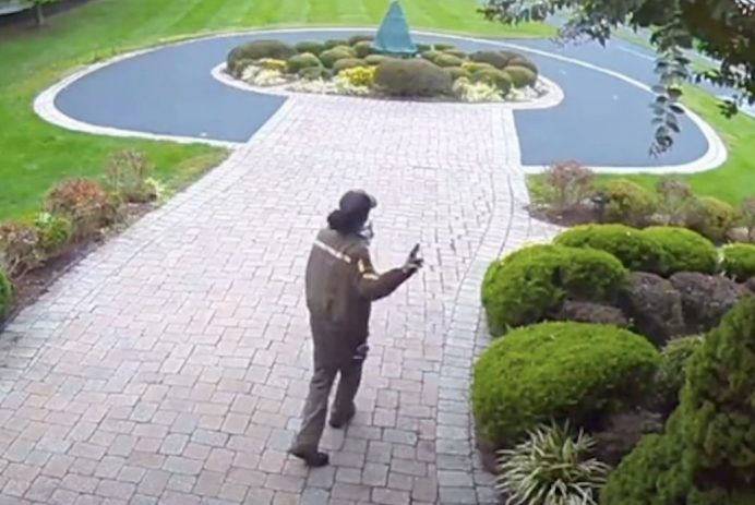UPS delivery person stunned by gift left out by customers