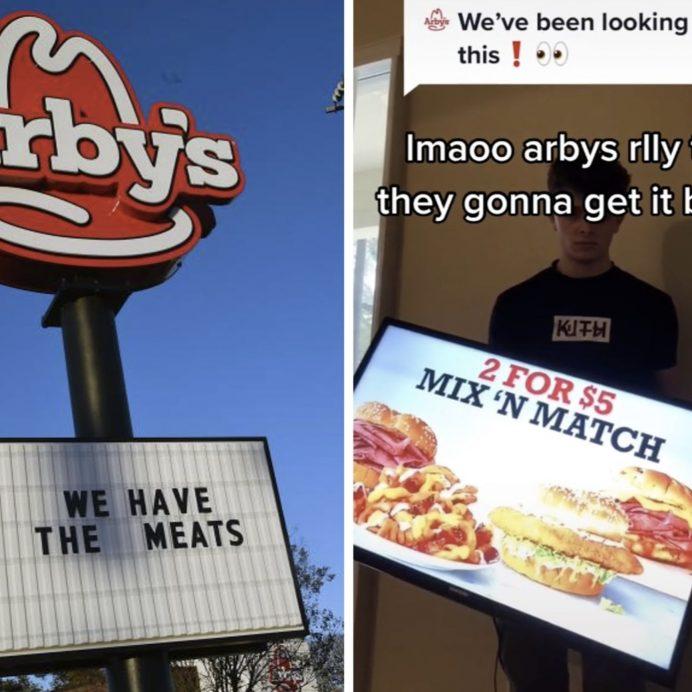 Arby's Menu TikTok