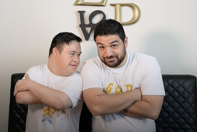 Zach and Pat show TikTok what it's like to live with Down syndrome