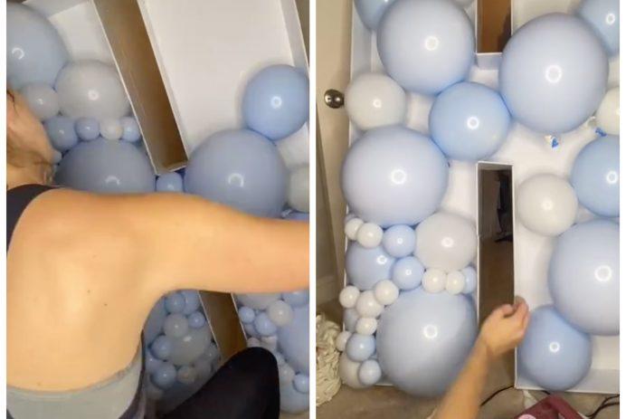 Kelsey Onstott balloon mosaic