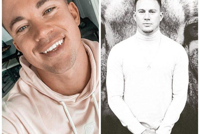 Channing Tatum celebrity doppelgänger