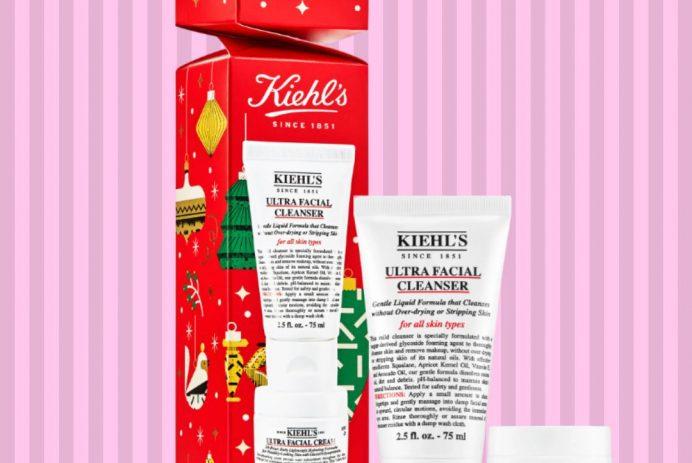 Kiehl's hydration skincare set