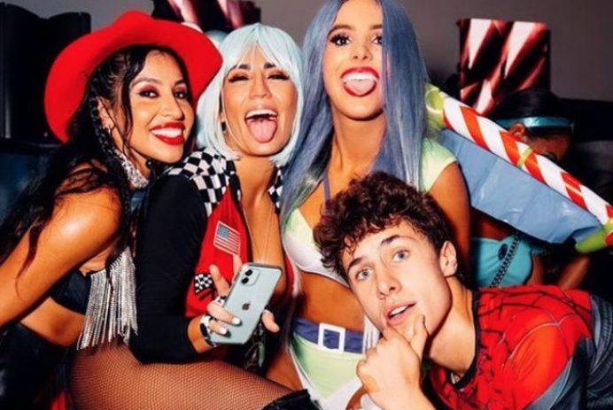 Lele Pons Halloween party