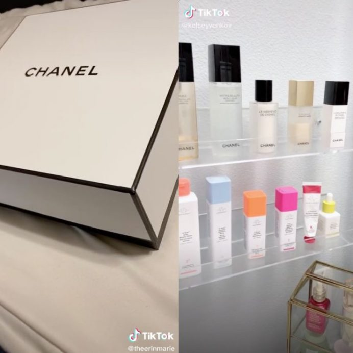 chanel cotton rounds shopping hack