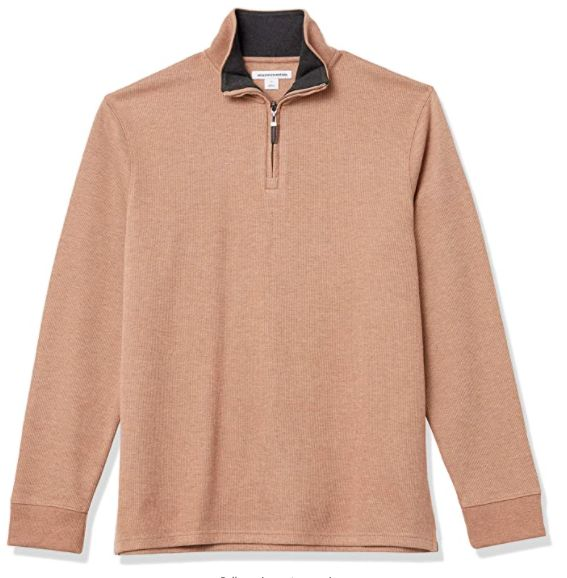 French rib sweater