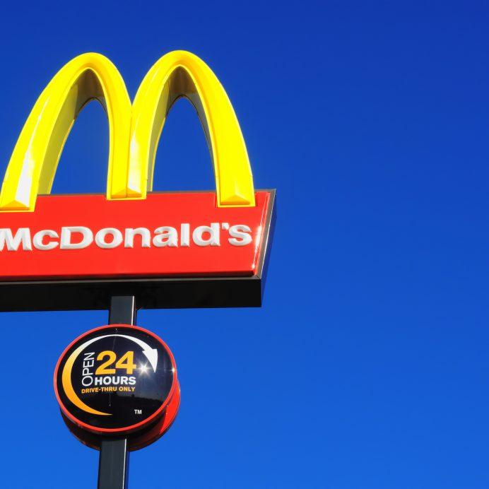 McDonald's sign order mishap