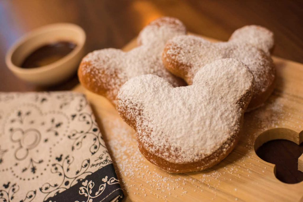 Mickey-shaped beignets Disney copycat recipe