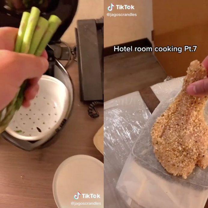 tiktok isolation cooking jago randles
