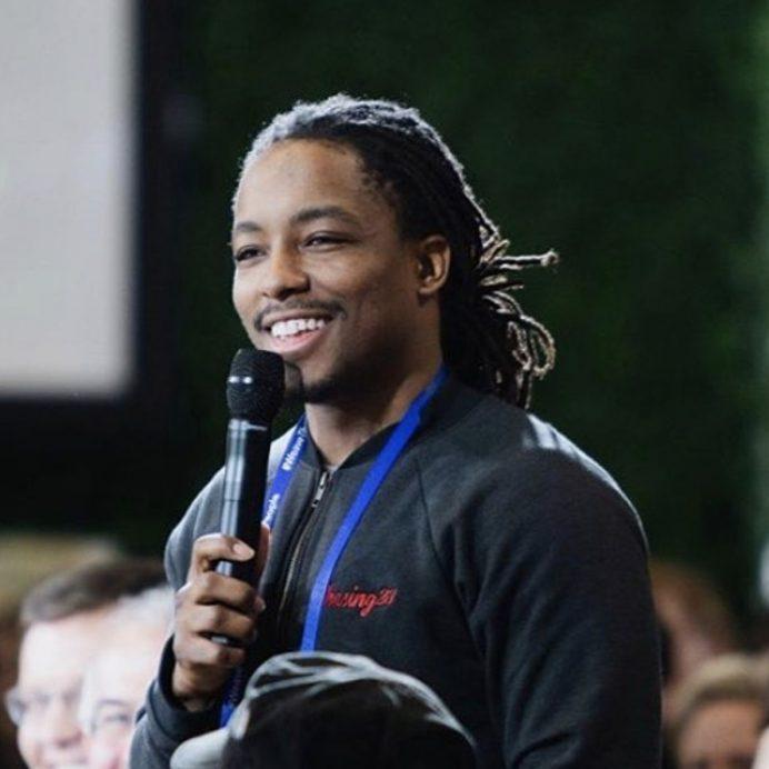 Darius Ballinger, founder of Chasing23