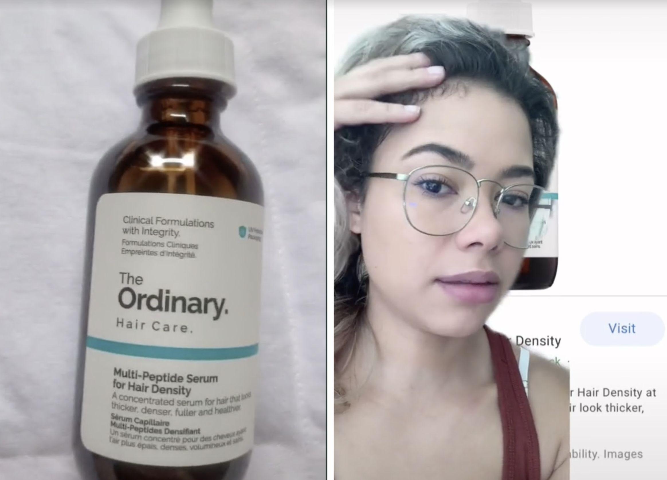 Hair Growth Serum Tiktok The Ordinary Product Goes Viral