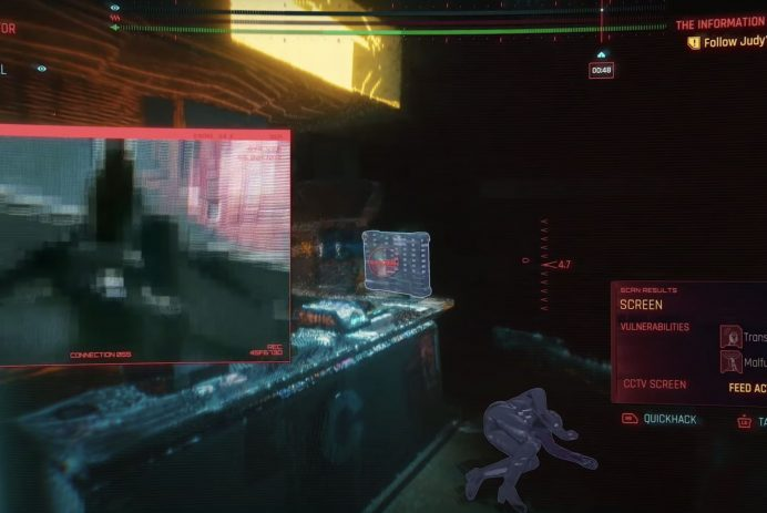 cyberpunk seizure