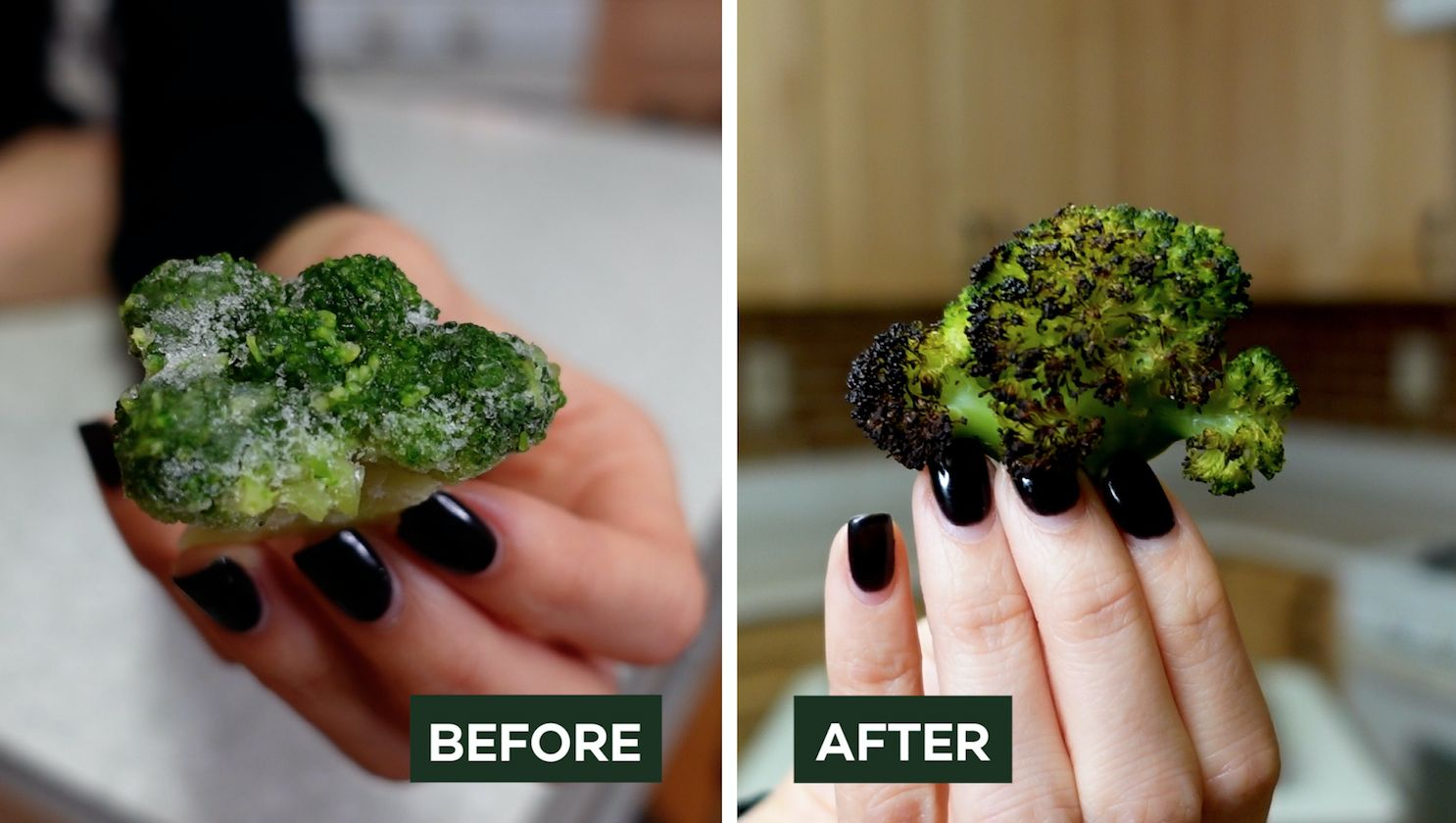 How to make frozen vegetables extra crispy