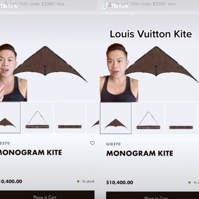 louis vuitton kite jeffrey huang