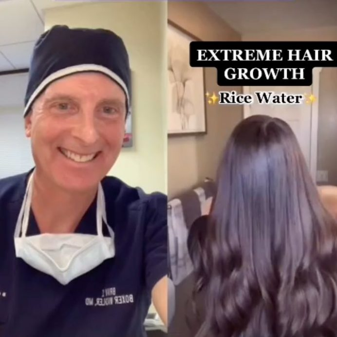 rice water hair growth hack