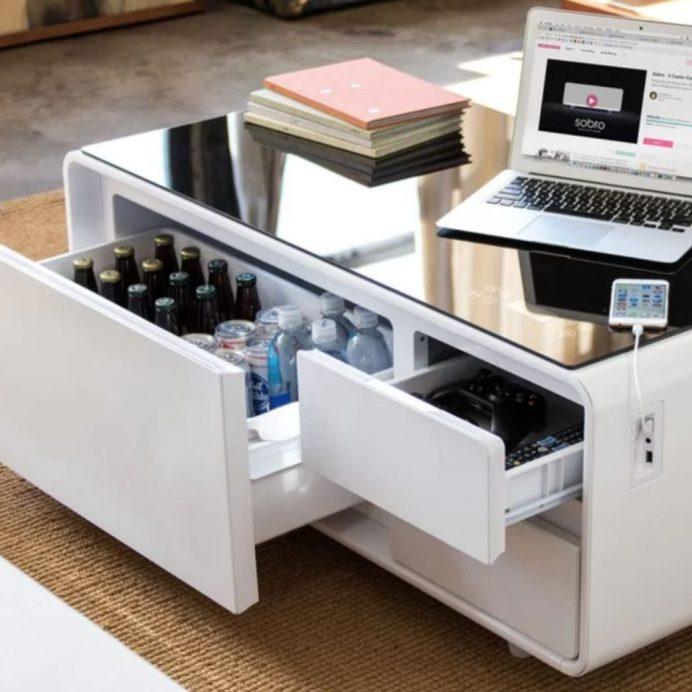 tiktok smart coffee table
