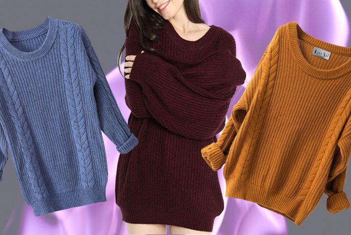 Amazon chunky sweater