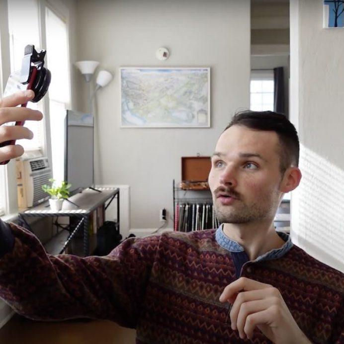iPhone camera filter hack
