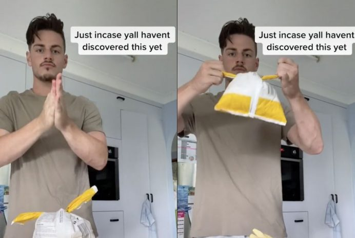 freezer bag hack