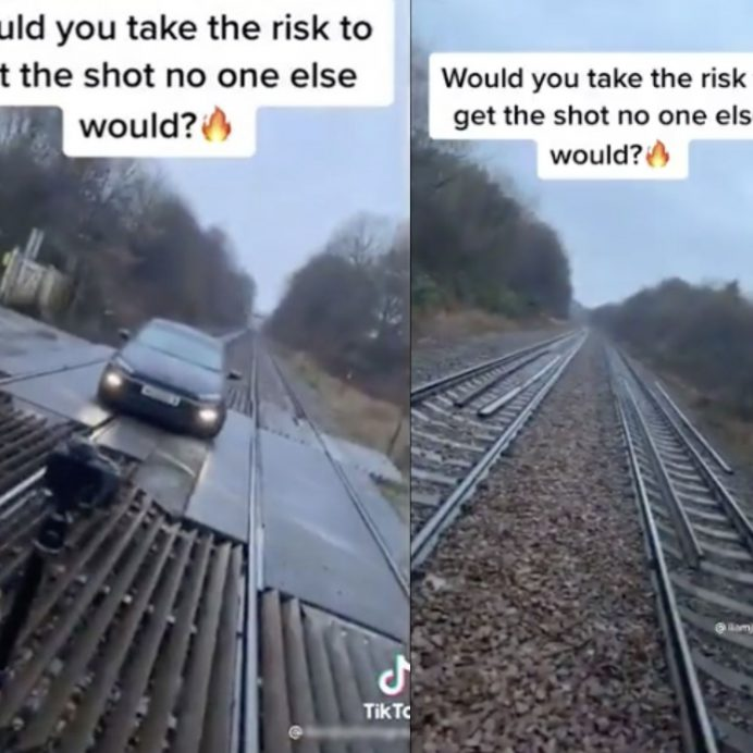 railway reckless tiktok