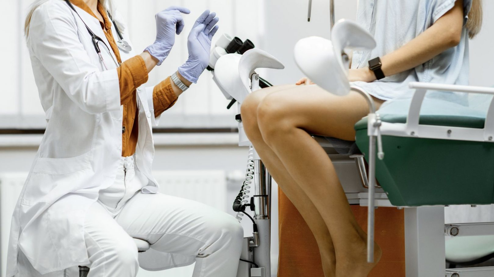 first gynecologist visit
