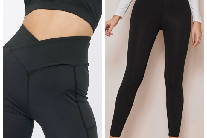 Aerie Crossover Leggings dupes
