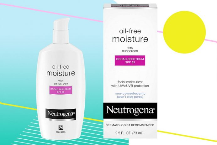 Neutrogena face moisturize