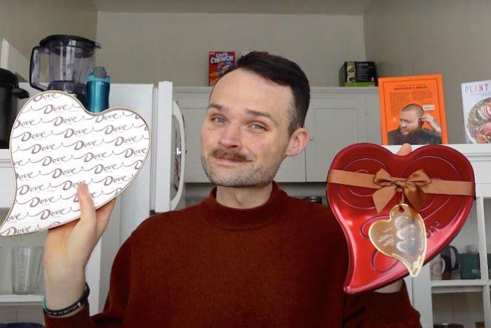 homemade Valentine's Day