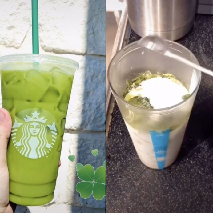 Starbucks' Shamrock Tea