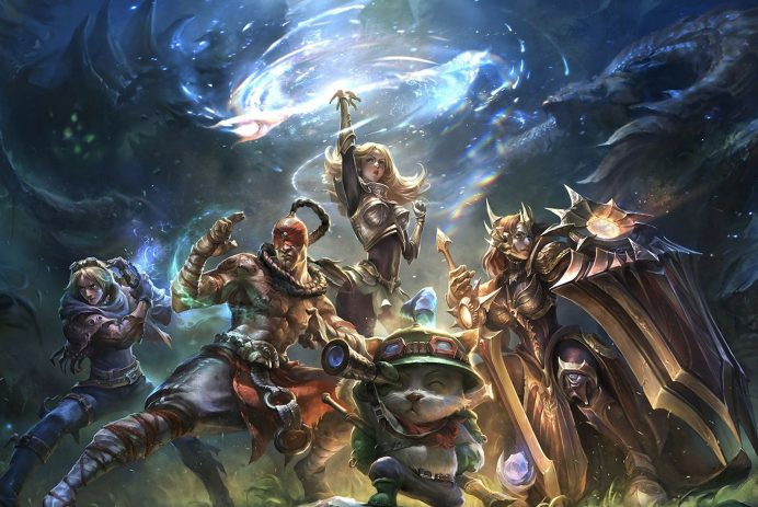 riot games mmorpg