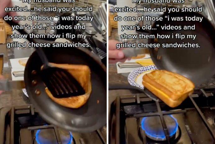 grilled cheese hack tiktok
