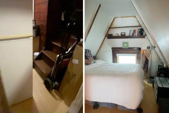 NYC attic apartment