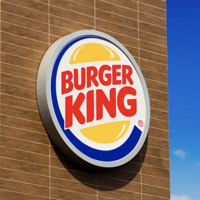 Burger King one-pound burger