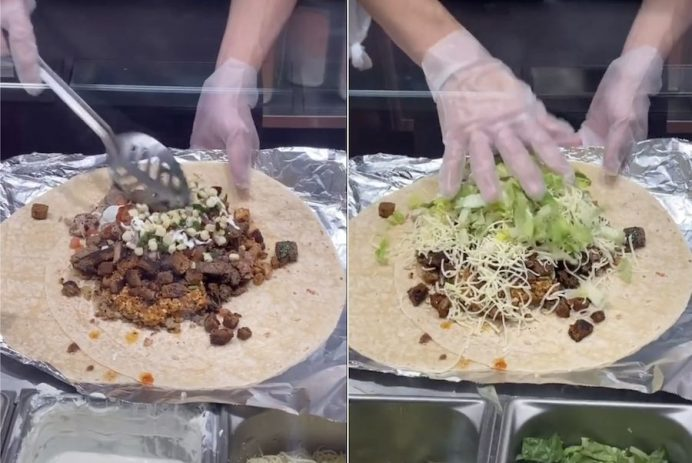 Chipotle's biggest burrito