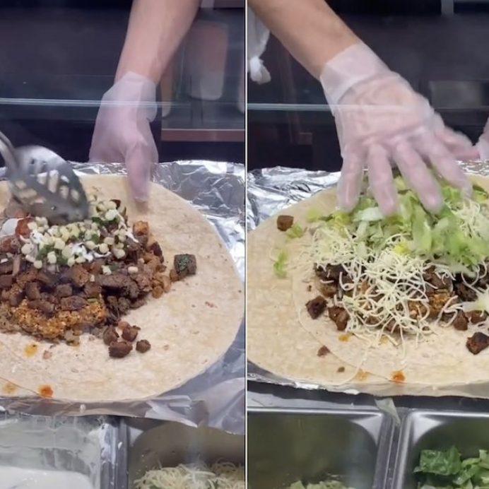Chipotle's biggest burrito