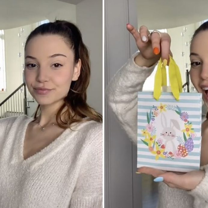 how to close a gift bag