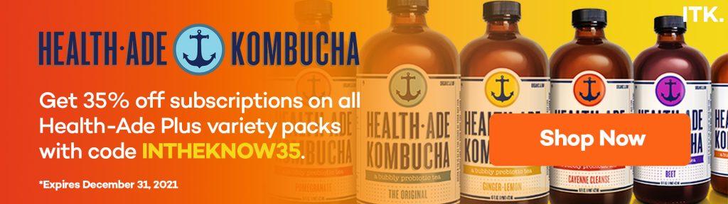 health Ade kombucha promo code