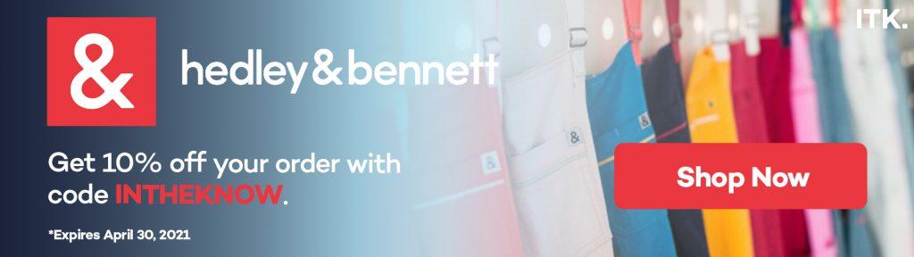 Hedley & Bennett promo code