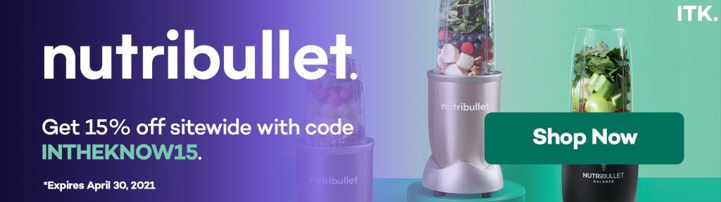 nutribullet promo code