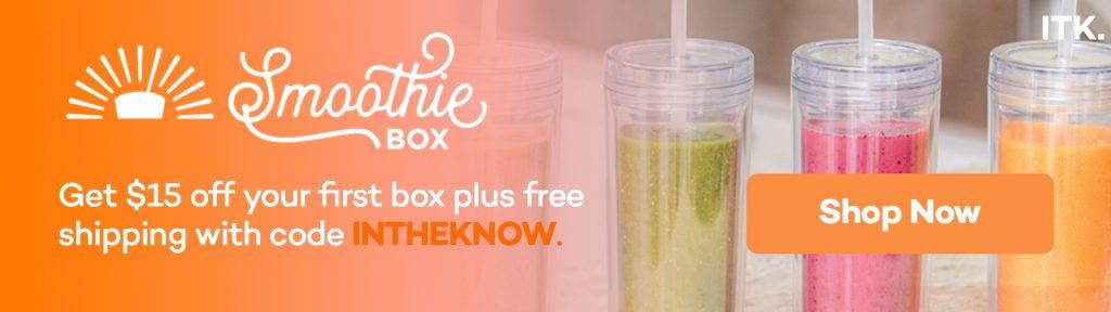 smoothie box promo code