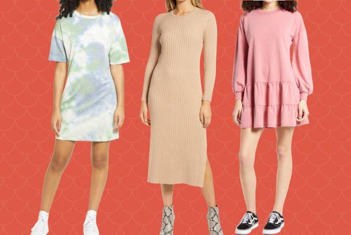 spring dresses at Nordstrom