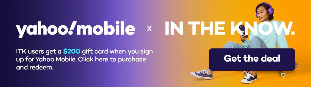 Yahoo Mobile promo code